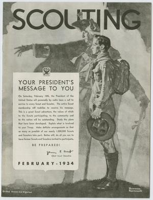 Scouting, Volume 22, Number 2, February 1934