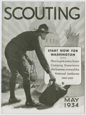 Primary view of object titled 'Scouting, Volume 22, Number 5, May 1934'.
