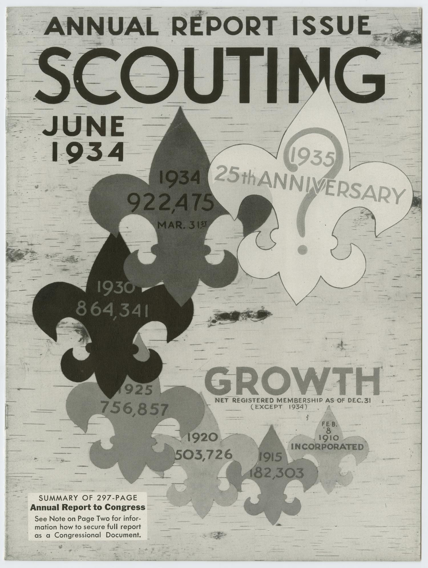 Scouting, [Volume 22, Number 6,] June 1934                                                                                                      1