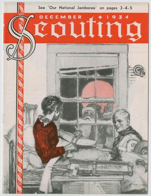 Primary view of object titled 'Scouting, Volume 22, Number 11, December 1934'.