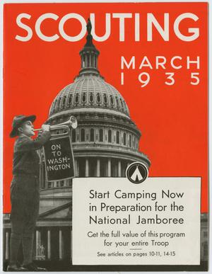 Primary view of object titled 'Scouting, Volume 23, Number 3, March 1935'.