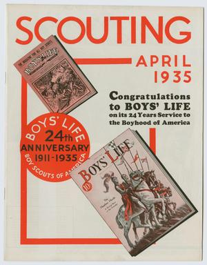 Scouting, Volume 23, Number 4, April 1935