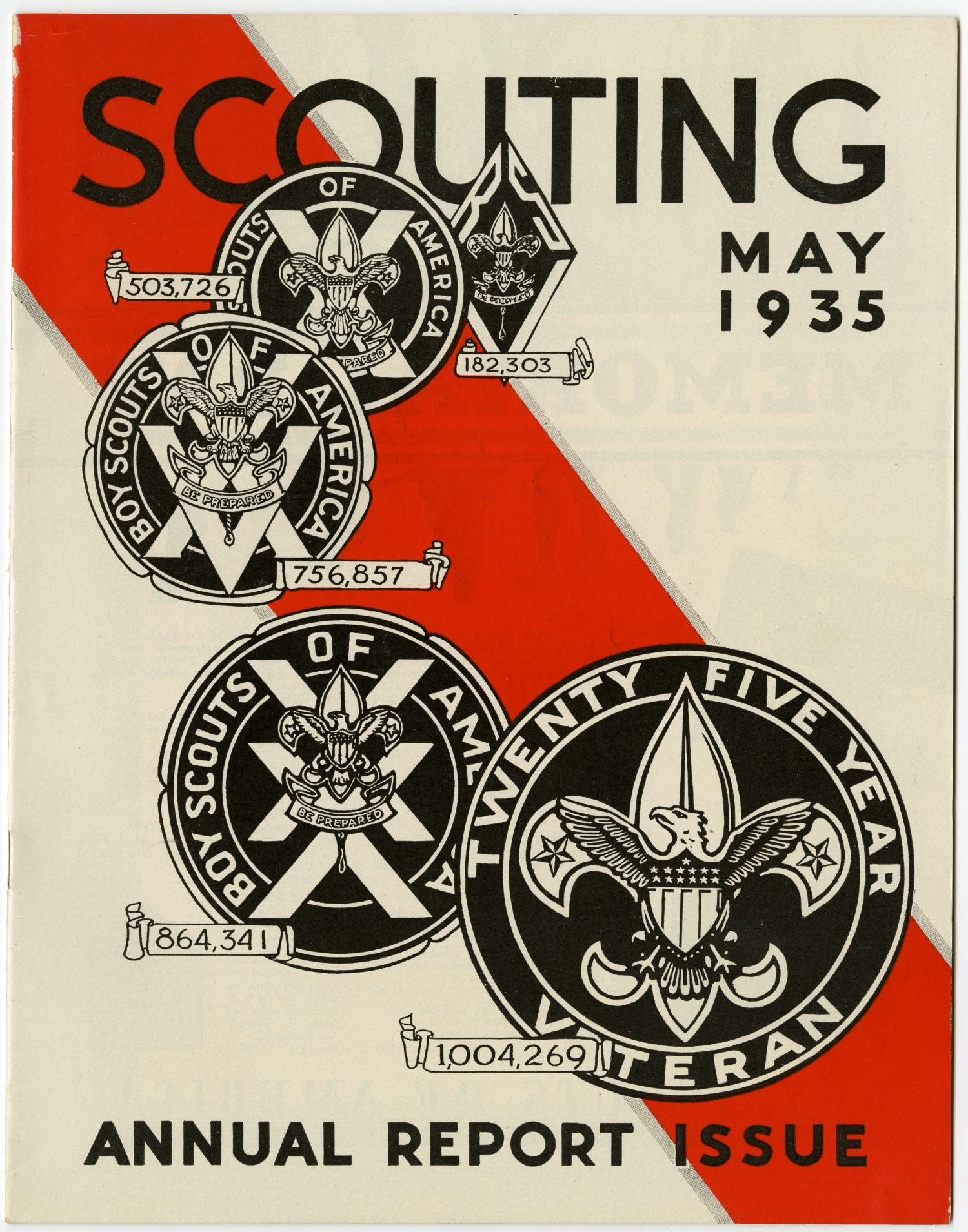 Scouting, Volume 23, Number 5, May 1935                                                                                                      1