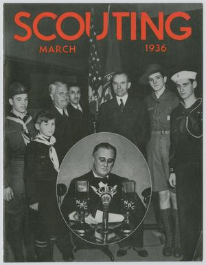 Primary view of object titled 'Scouting, Volume 24, Number 3, March 1936'.