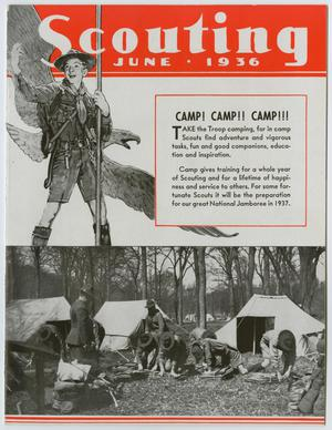 Primary view of Scouting, Volume 24, Number 6, June 1936