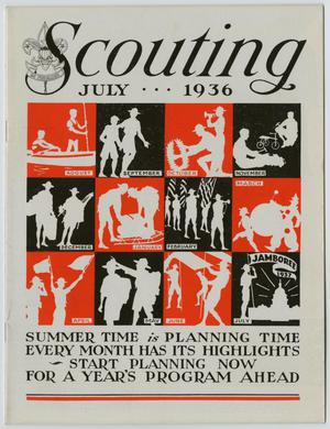Primary view of Scouting, Volume 24, Number 7, July 1936