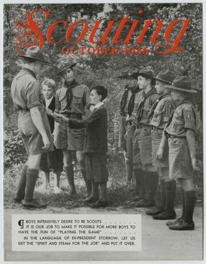 Primary view of Scouting, Volume 24, Number 9, October 1936