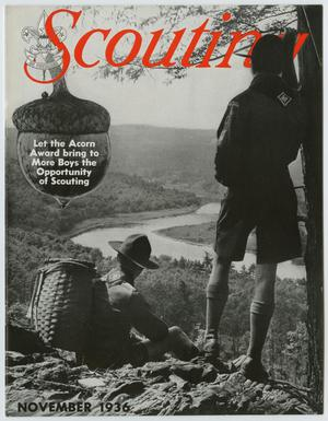 Primary view of Scouting, Volume 24, Number 10, November 1936