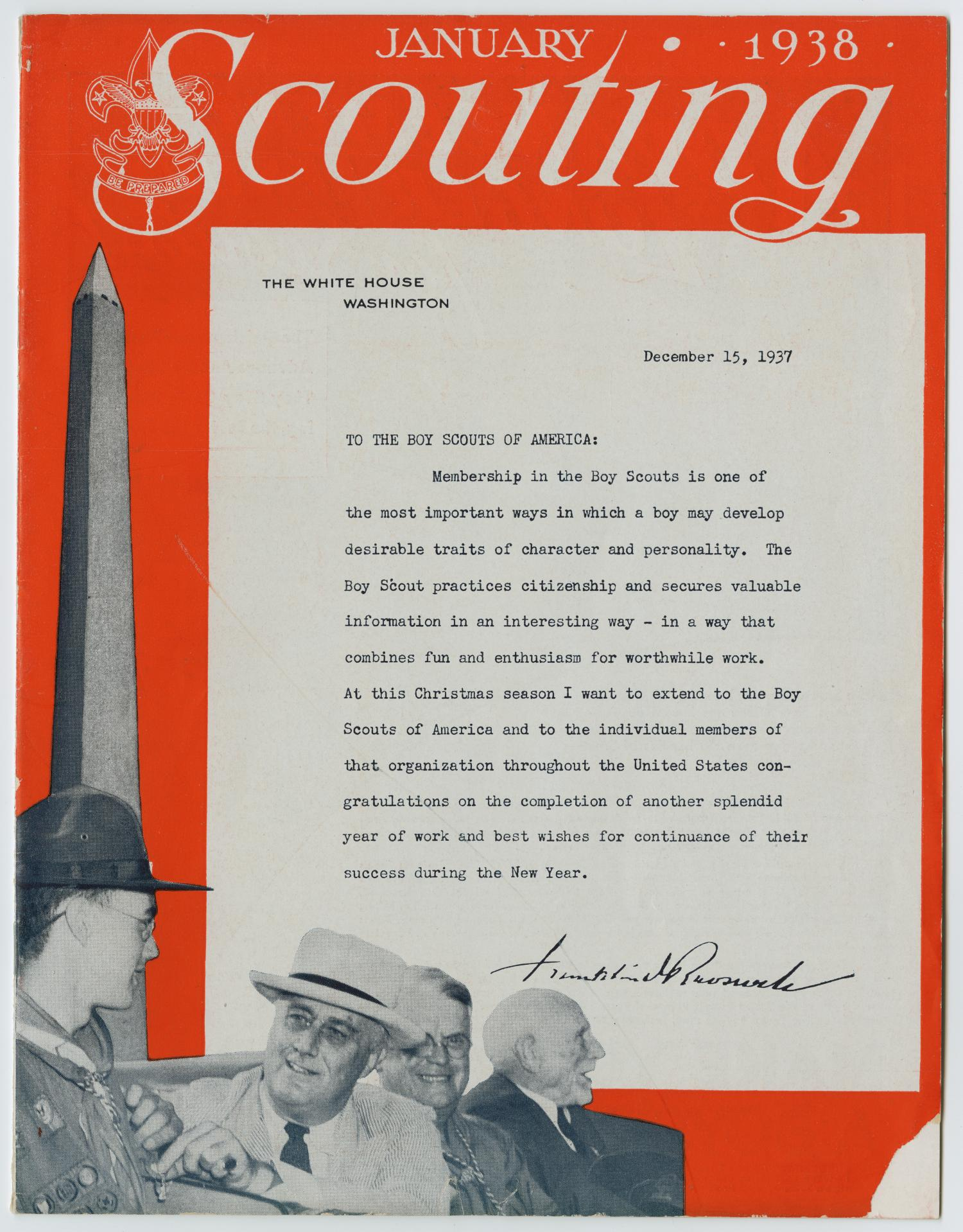Scouting, Volume 26, Number 1, January 1938                                                                                                      1
