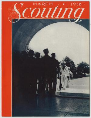 Primary view of object titled 'Scouting, Volume 26, Number 3, March 1938'.