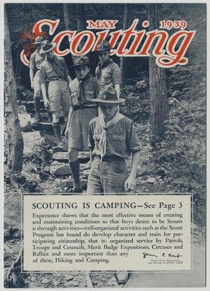 Primary view of object titled 'Scouting, Volume 27, Number 5, May 1939'.