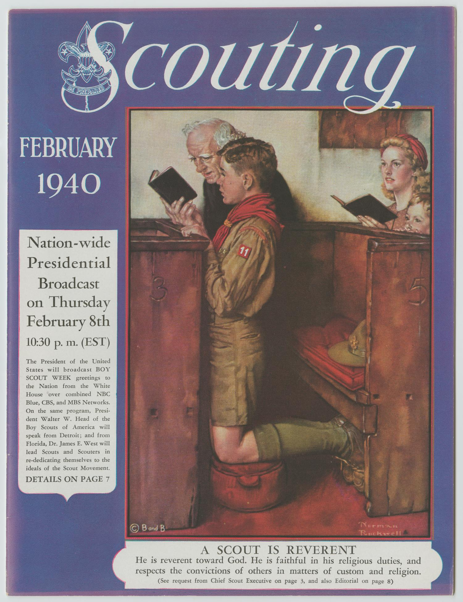 Scouting, Volume 28, Number 2, February 1940                                                                                                      1