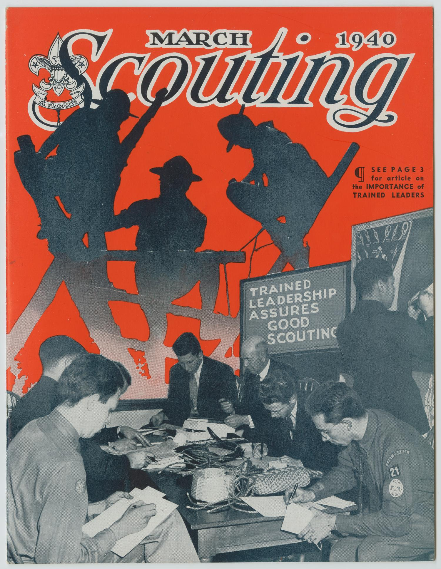 Scouting, Volume 28, Number 3, March 1940                                                                                                      1