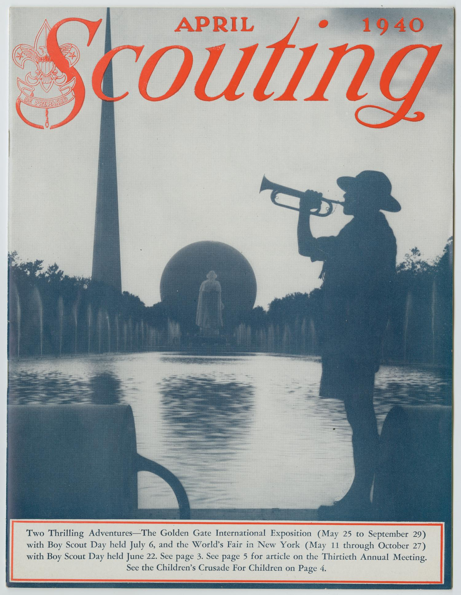 Scouting, Volume 28, Number 4, April 1940                                                                                                      1