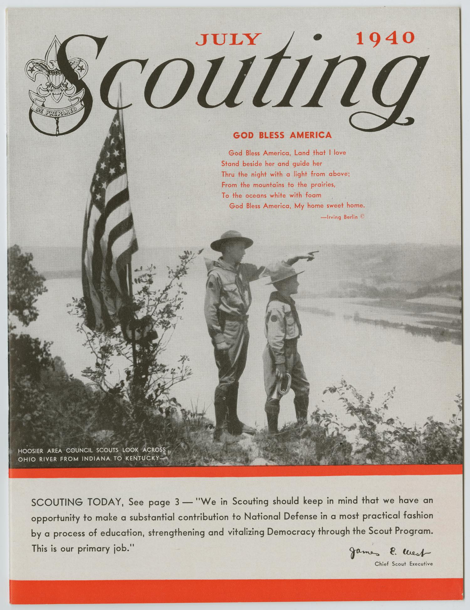 Scouting, Volume 28, Number 7, July 1940                                                                                                      1