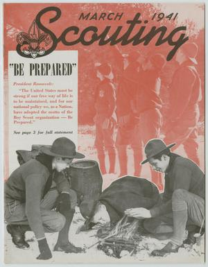 Scouting, Volume 29, Number 3, March 1941