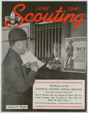 Scouting, Volume 29, Number 7, July 1941