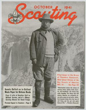 Primary view of object titled 'Scouting, Volume 29, Number 9, October 1941'.
