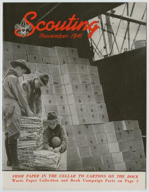 Scouting, Volume 29, Number 10, November 1941