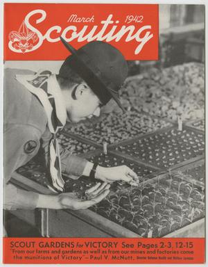 Primary view of object titled 'Scouting, Volume 30, Number 3, March 1942'.