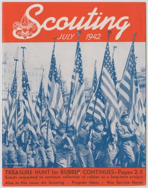 Primary view of object titled 'Scouting, Volume 30, Number 7, July 1942'.