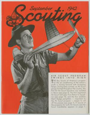 Primary view of object titled 'Scouting, Volume 30, Number 8, September 1942'.