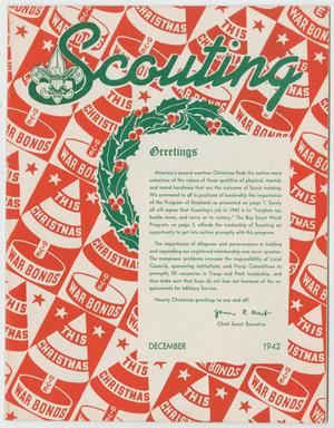 Primary view of object titled 'Scouting, Volume 30, Number 11, December 1942'.