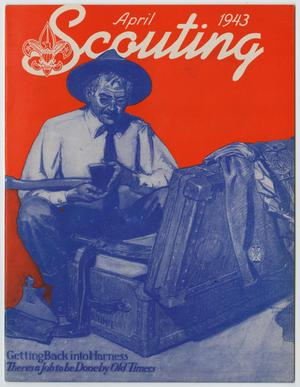 Primary view of object titled 'Scouting, Volume 31, Number 4, April 1943'.