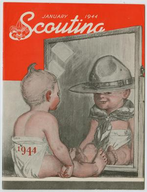 Primary view of object titled 'Scouting, Volume 32, Number 1, January 1944'.