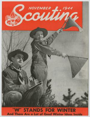Primary view of object titled 'Scouting, Volume 32, Number 9, November 1944'.