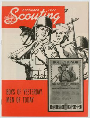 Primary view of object titled 'Scouting, Volume 32, Number 10, December 1944'.