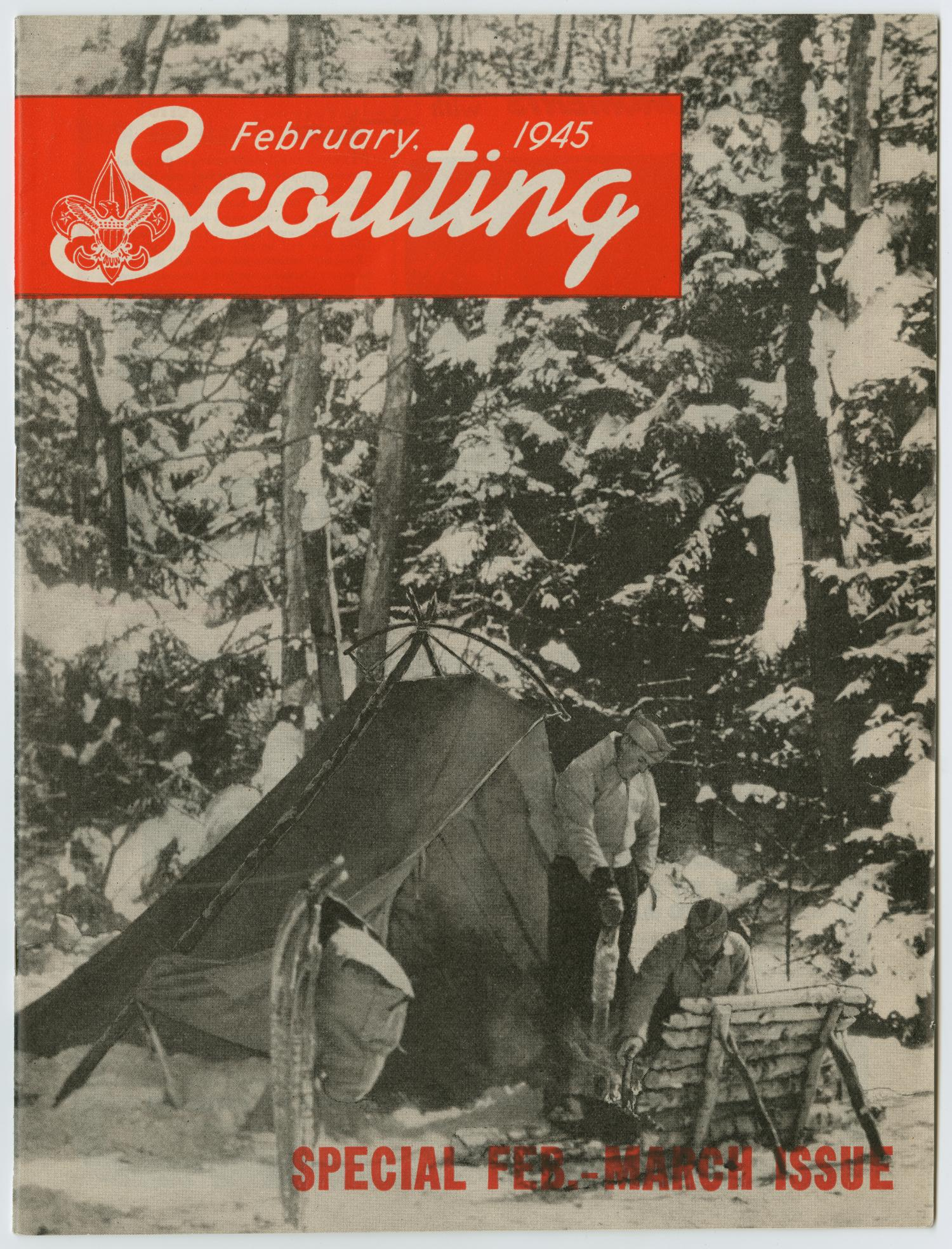 Scouting, Volume 33, Number 2, February-March 1945                                                                                                      Front Cover
