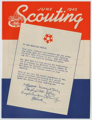 Scouting, Volume 33, Number 6, June 1947