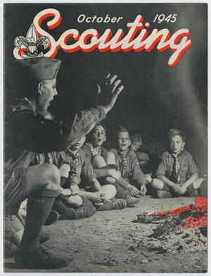 Primary view of object titled 'Scouting, Volume 33, Number 8, October 1945'.