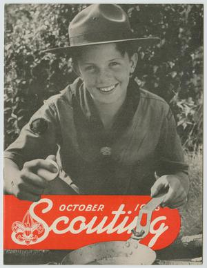 Primary view of object titled 'Scouting, Volume 34, Number 8, October 1946'.