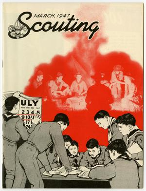 Primary view of object titled 'Scouting, Volume 35, Number 3, March 1947'.