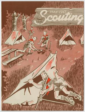 Primary view of object titled 'Scouting, Volume 35, Number 5, May 1947'.