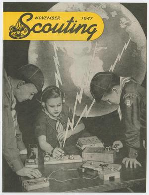 Primary view of object titled 'Scouting, Volume 35, Number 9, November 1947'.