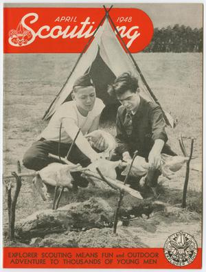 Scouting, Volume 36, Number 4, April 1948