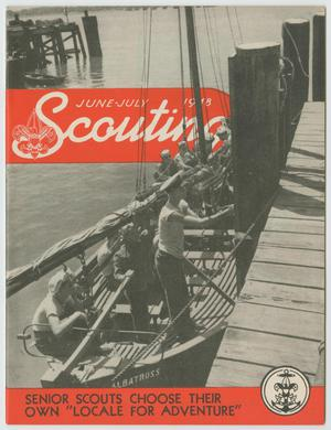 Scouting, Volume 36, Number 6, June-July 1948