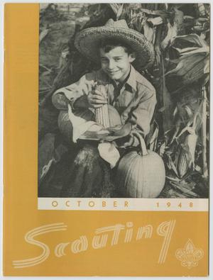 Primary view of object titled 'Scouting, Volume 36, Number 8, October 1948'.