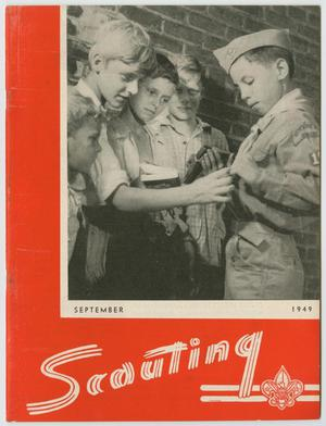 Scouting, Volume 37, Number 7, September 1949