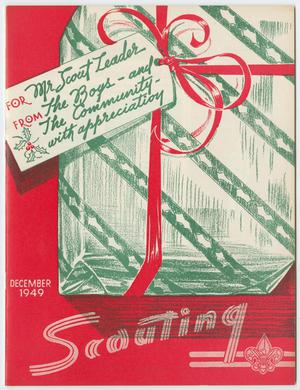 Primary view of object titled 'Scouting, Volume 37, Number 10, December 1949'.