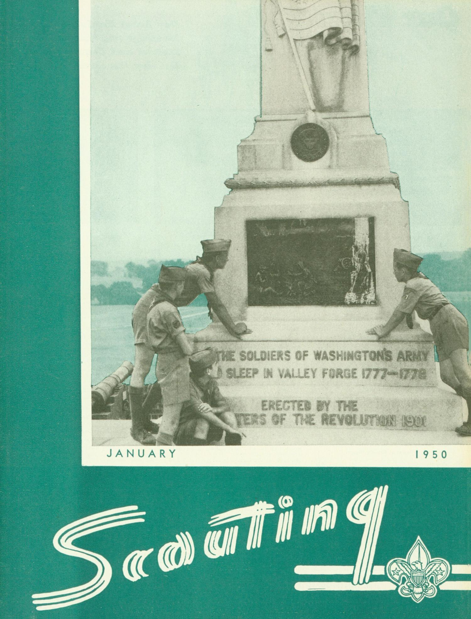 Scouting, Volume 38, Number 1, January 1950                                                                                                      Front Cover