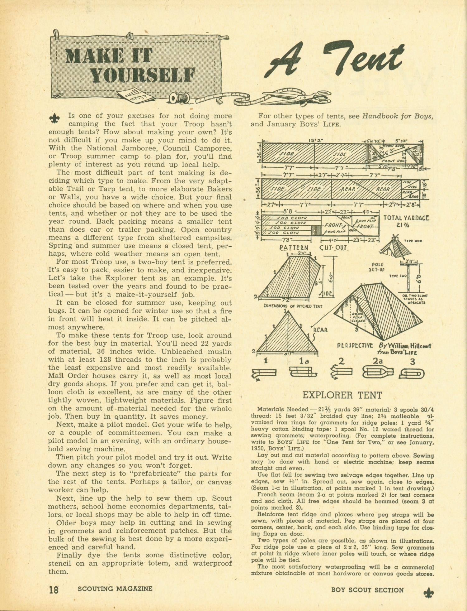 Scouting, Volume 38, Number 1, January 1950                                                                                                      18