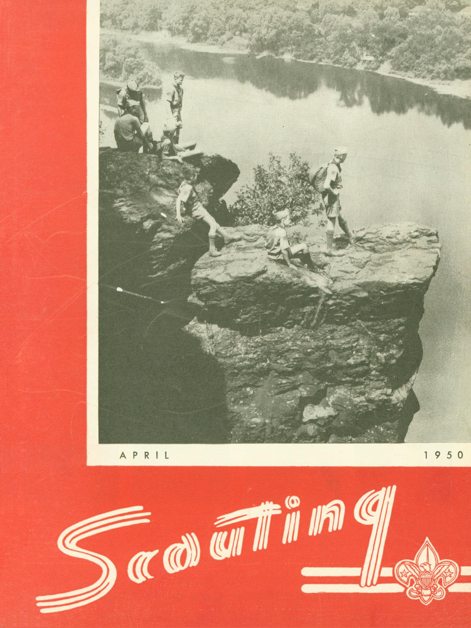 Scouting, Volume 38, Number 4, April 1950                                                                                                      Front Cover