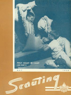 Primary view of object titled 'Scouting, Volume 38, Number 5, May 1950'.