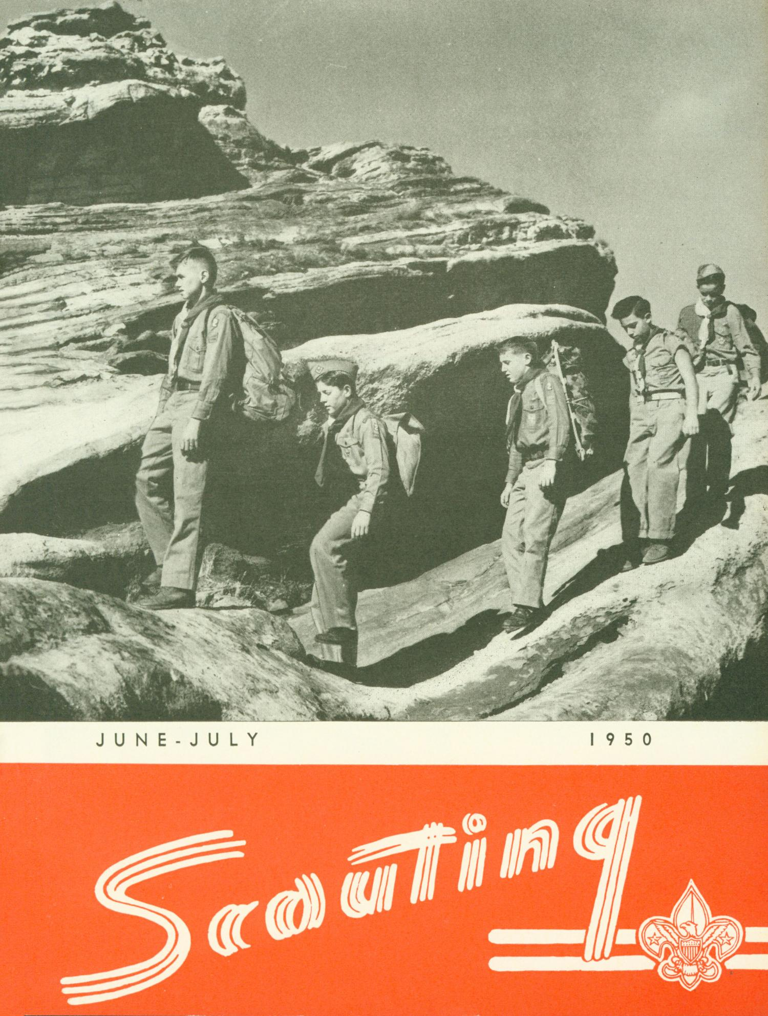 Scouting, Volume 38, Number 6, June-July 1950                                                                                                      Front Cover