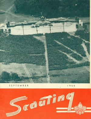 Primary view of object titled 'Scouting, Volume 38, Number 7, September 1950'.