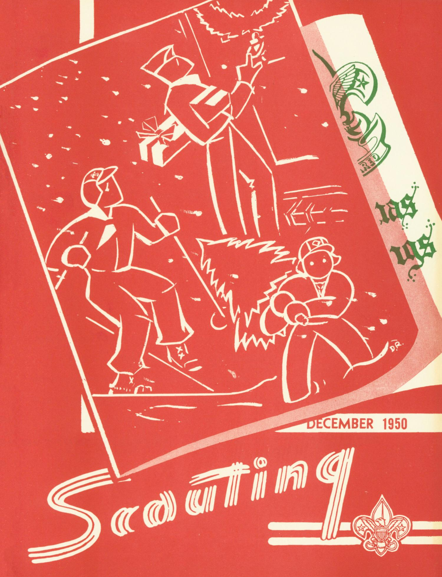 Scouting, Volume 38, Number 10, December 1950                                                                                                      Front Cover